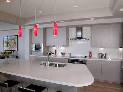 Kitchen lighting ideas over island